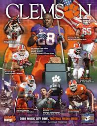 Tigers Bowl By 2009 Issuu - Clemson Football Guide Media