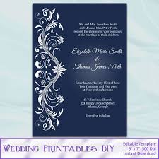 downloadable wedding invitations editable wedding invitation templates best of free downloadable
