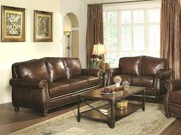 couch and loveseat set traditional living room furniture brown leather sofa details about sets