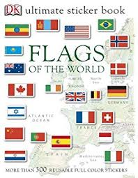 ultimate sticker book flags of the world ultimate sticker books