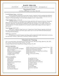 Emergency Room Nurse Resume Template Luxury Best Free Resume