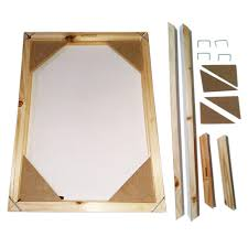 wood frame for canvas oil painting nature wood diy custom frame big size picture inner frame