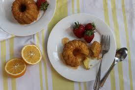 Meyer Lemon Yogurt Cake with Aperol Glaze and Seasonal Strawberry