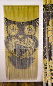 hand painted bamboo and beaded curtains from earthbound trading co