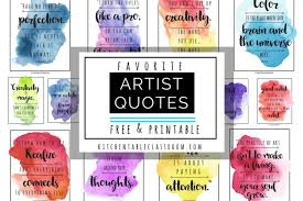 Famous Artist Quotes Cool Famous Artist Quotes Archives The Kitchen Table Classroom