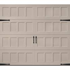 lowes garage door insulationShop Pella Carriage House 108in x 84in Insulated Sandtone Single