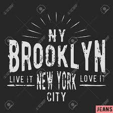 New Design Printing T Shirt Print Design New York Brooklyn Vintage Stamp Printing