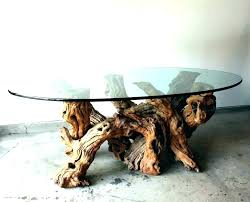 trunk table furniture. Tree Trunk Table Base Large Size Of Coffee Unique Glass Topped With Furniture