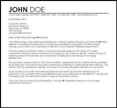 Fashion Pr Assistant Cover Letter Buyer Cover Letter Sample Resume
