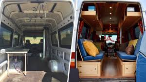 Converted Vans Converting Van Into Home Todaycom