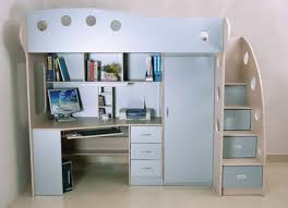 kids loft bed with desk. Kids Loft Bed With Desk View In Gallery Study And Play Area To Photo Of Beds Stairs I