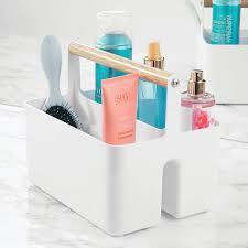 Mdesign Badezimmer Aufbewahrungsbox Korb Mit Griff Zur