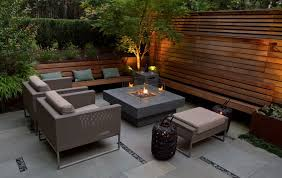 Modern Outdoor Gas Fire Pit  Outdoor DesignsModern Fire Pit