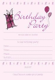 40th Birthday Ideas Girl Birthday Invitations Templates Free