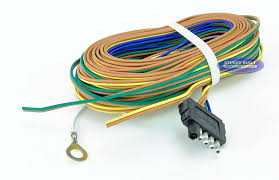 trailer light wiring harness 5 flat 35ft to re wire trailer lights 7 prong trailer wiring diagram at Most Common Trailer Wiring Harness