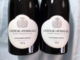 Château de Pommard Clos Marey-Monge Monopole 2015 is Worth Celebrating -  TasteTV