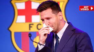 Lionel Messi: Er weint sich vom FC Barcelona nach Paris - Fussball - Bild.de