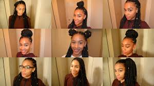 Box Braids Hair Style 9 box braid hairstyles youtube 5409 by wearticles.com