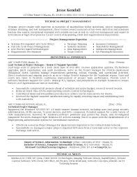 It Project Manager Resume Doc Sample Project Manager Resume Click