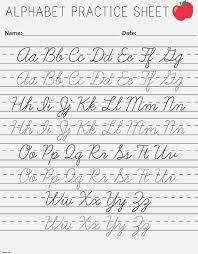Cursive Alphabet Letters Printable Alphabet Image And Picture