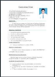 Word Formatted Resume Word Resume Formats Joefitnessstore Com