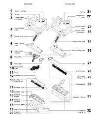 dyson dc14 upright vacuum parts page a