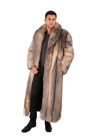 mens fox coat enlarge photo enlarge photo enlarge photo