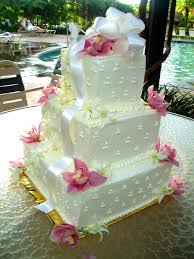 traditional square wedding cakes.  Traditional Maui Wedding Cakes  Square To Traditional A