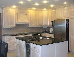 Beautiful Painting Oak Kitchen Cabinets White How To Inspiration Decorating