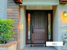 steel front door with sidelights front door with one sidelight single front doors incomparable front door