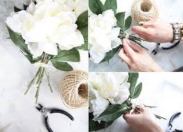 diy silk flower arrangement by le zoe musings 911 how to make fake flower arrangements28