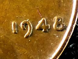 1948 Wheat Penny Value Chart 1948 Wheat Penny Error Wheat Photos And Descriptions