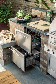 ... Best 25 Outdoor Grill Area Ideas On Pinterest Station With Bar B Q  Grills And Small Kitchens ...