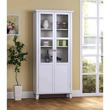 Wooden Storage Cabinets With Doors Glitzhome Wooden Free Standing Storage Cabinet With Double Doors