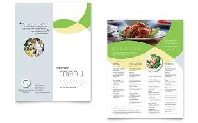 pages menu template restaurant menu templates indesign illustrator publisher word