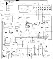 Toyota pickup wiring schematic alternator diagram tail light