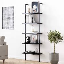 shelf wall ladder bookshelf