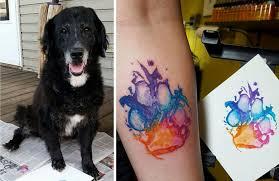 Tetování Na Lýtko Vlk