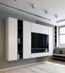 Images interior design tv Room Interior White Cabinets Tv Wall Interior Design Next Luxury Top 70 Best Tv Wall Ideas Living Room Television Designs