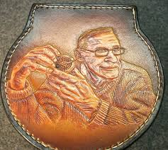 here s a closeup of the carving i did on the top of the reelcase i can work with your fly fishing photo and make the image you want on your reelcase