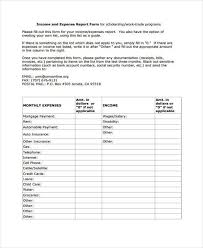 Blank Expense Report Form Free 8 Sample Blank Expense Forms In Pdf Word