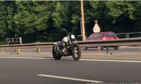 mystery of riderless ghost motorbike