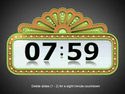 5 Minute Countdown Timer For Powerpoint Countdown Timer A Powerpoint Template From Presentermedia Com