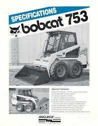bobcat 50 series loader worked like a boss bobcat blog Bobcat 753 Loader Diagram Bobcat 753 Loader Diagram #68 753 Bobcat Sale