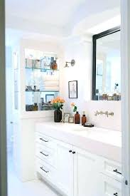 White bathroom cabinets with granite Granite Countertop White Bathroom Cabinets With Bronze Hardware Mirror Bathrooms Granite Countertops Brilliant Rustic Bat Astronlabsco White Bathroom Cabinets With Bronze Hardware Mirror Bathrooms