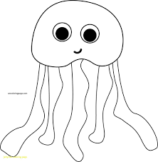 coloring book and pages jellyfish page