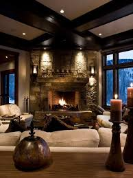 home accents interior decorating: rustic and cozy home decor  rustic and cozy home decor