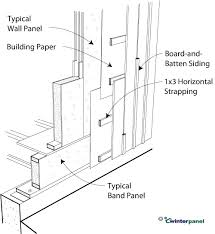board and batten siding installation. click to enlarge board and batten siding installation