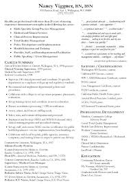 nursing supervisor resumes sample rn nursing resume best ideas of resume objective supervisor