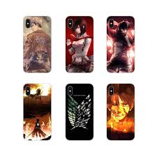 Thoáng mát Anime Nhật Bản Tấn Công Titan Cho Oneplus 3T 5T 6T Nokia 2 3 5 6  8 9 230 3310 2.1 3.1 5.1 7 Plus 2017 2018 Siêu Mỏng|Ốp Chống Sốc Điện Thoại